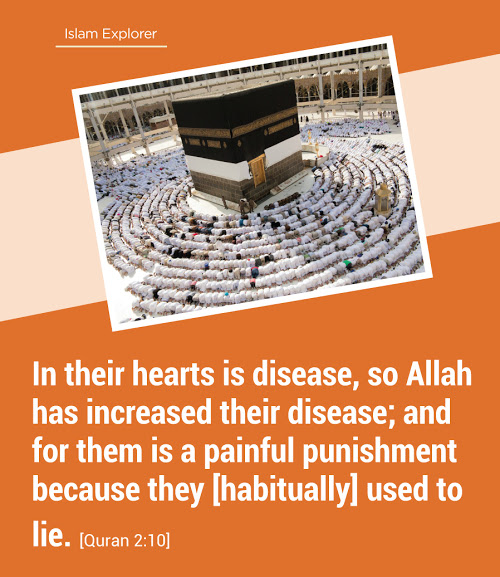 In their hearts is disease, so Allah has increased their disease