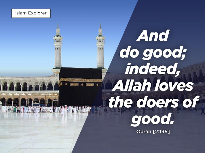 Allah loves the doers of good