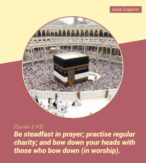 Be steadfast in prayer; practise regular charity