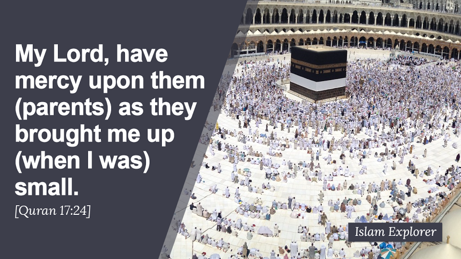 My Lord, have mercy upon parents