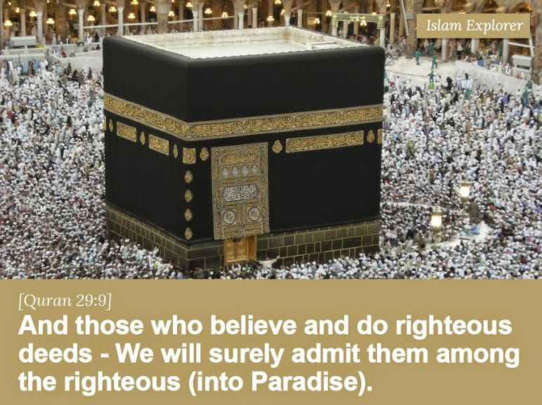 And those who believe and do righteous deeds
