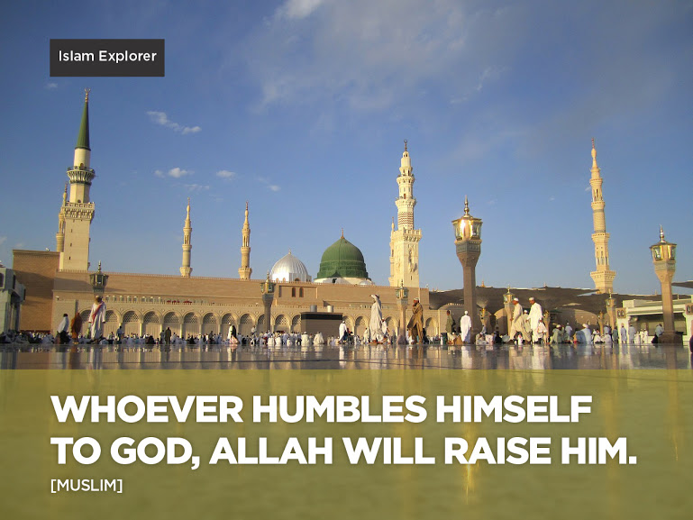 Whoever humbles himself to God