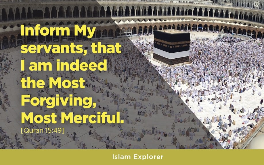 I am indeed the most forgiving, most merciful