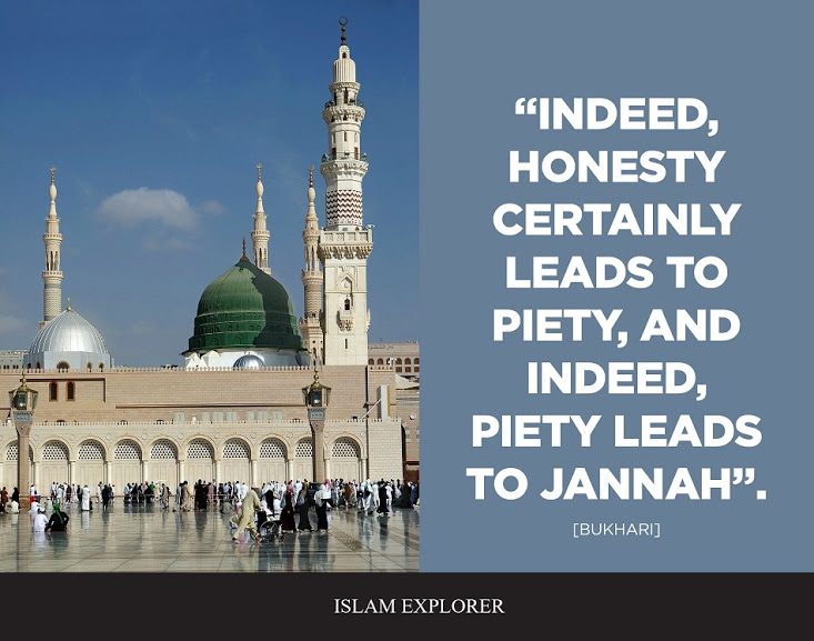 """Indeed, Honesty certainly leads to Piety"