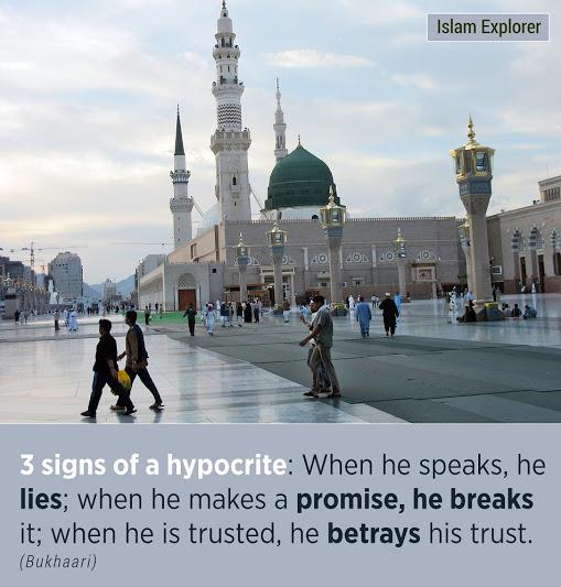 3 signs of hypocrite