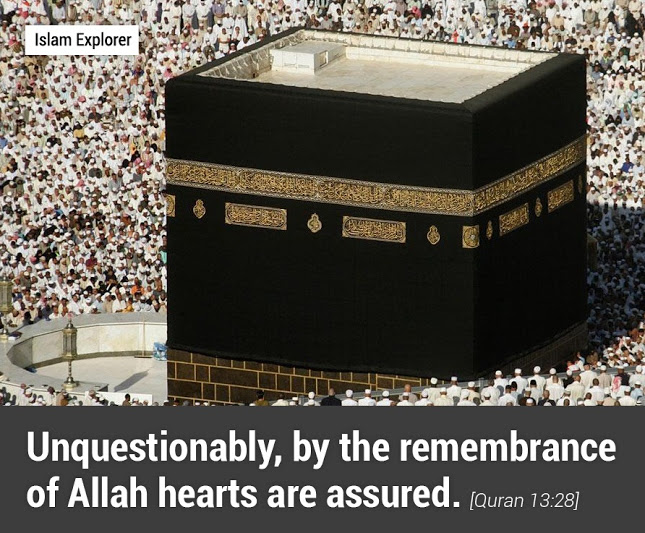 by the remembrance of Allah hearts are assured.