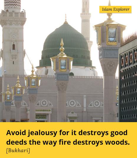 Avoid jealousy