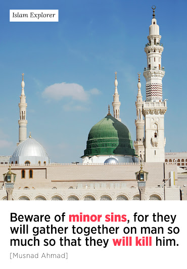 Beware of minor sins