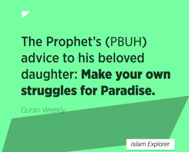 make your own struggles for Paradise
