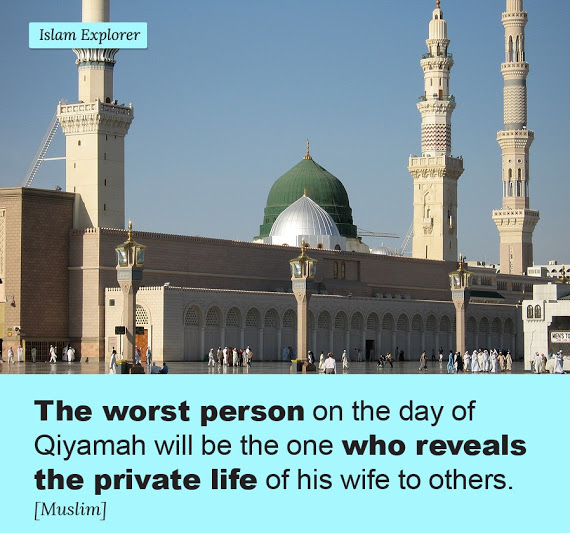 The worst person on the day of Qiyamah