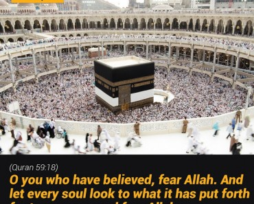 O you who have believed, fear Allah.