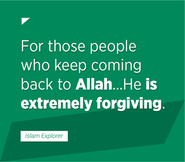 For those people who keep coming back to Allah
