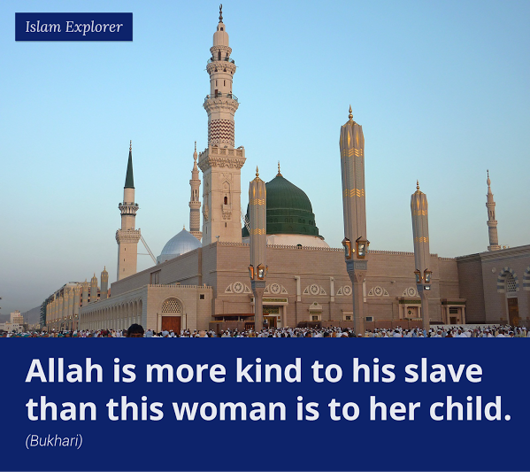 Allah is more kind to his slave