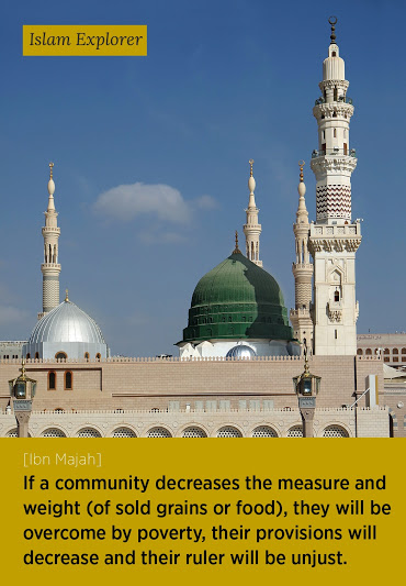 If a community decreases the measure and weight