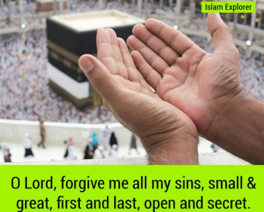 O Lord, forgive me all my sins
