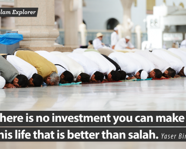 There is no investment you can make in this life