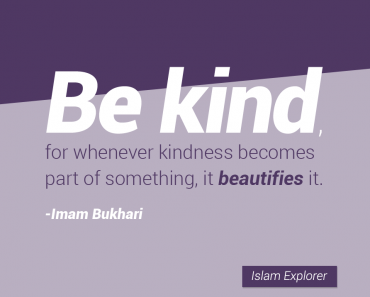 Be kind, for whenever kindness becomes part of something