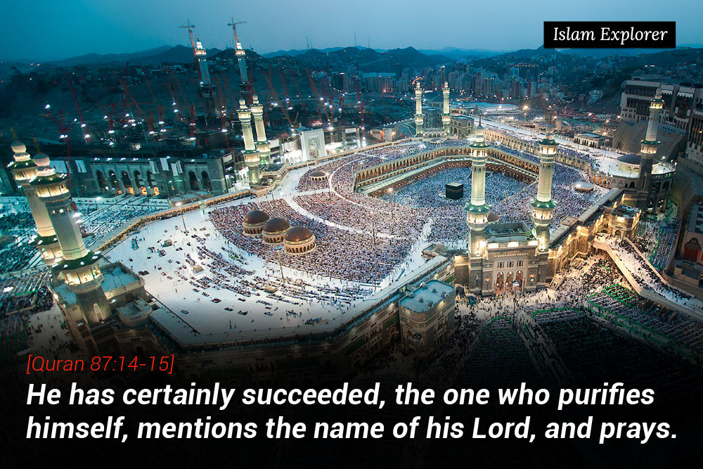 He has certainly succeeded, the one who purifies himself
