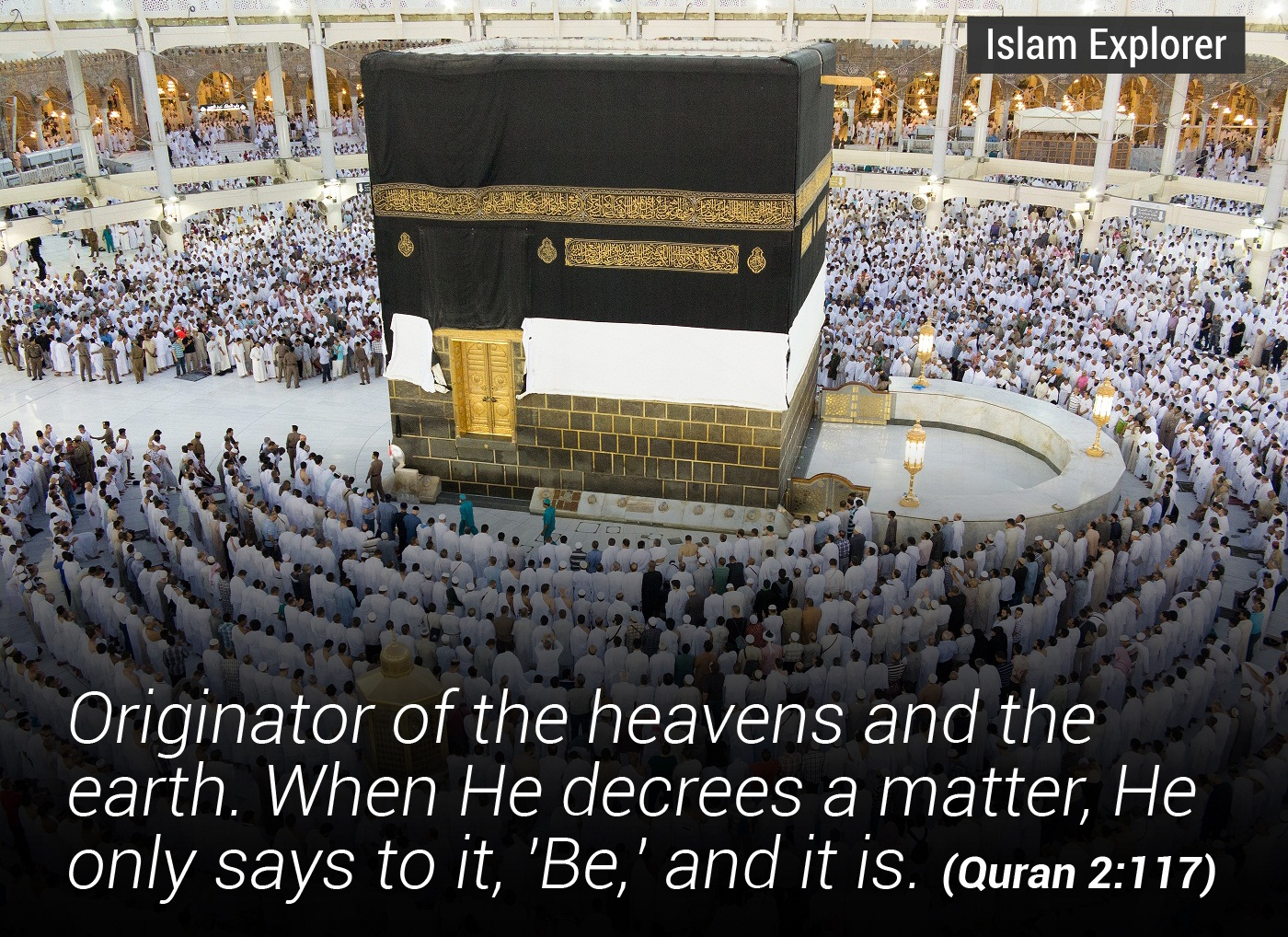 Originator of the heavens and the earth.