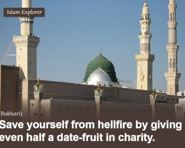 Save yourself from hellfire by giving even half a date