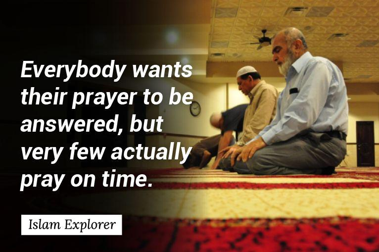 Everybody wants their prayer to be answered