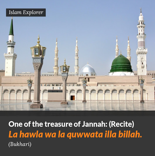 One of the Treasure of Jannah
