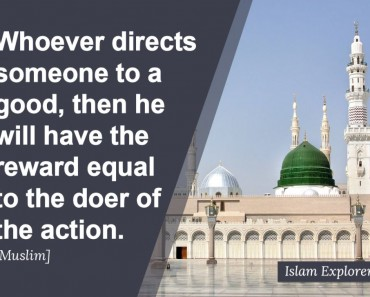 Whoever directs someone to a good