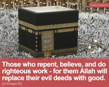 Those who repent, believe, and do righteous work