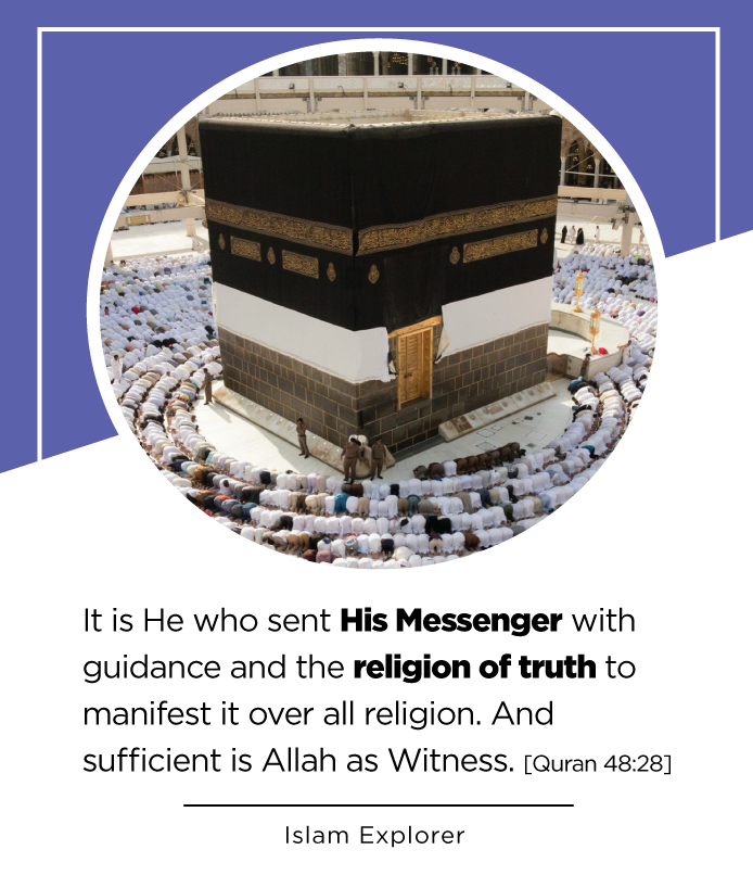 It is He who sent His Messenger with guidance