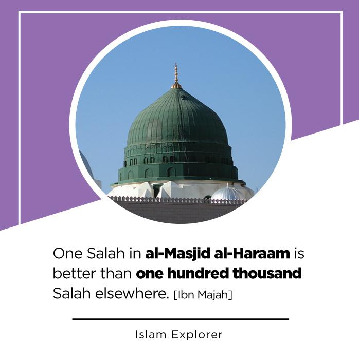 Salah in al-Masjid al-Haraam