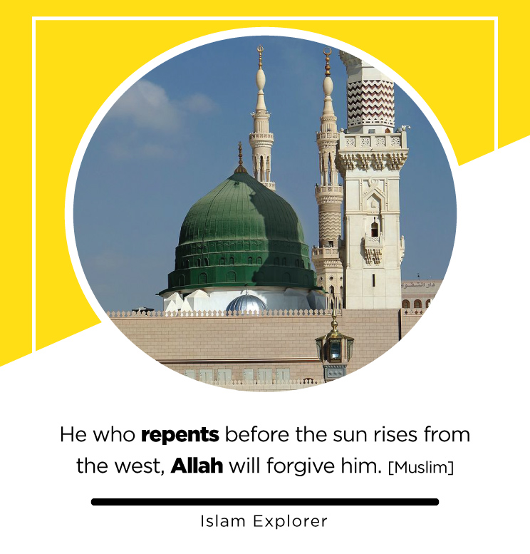 repents before the sun rises